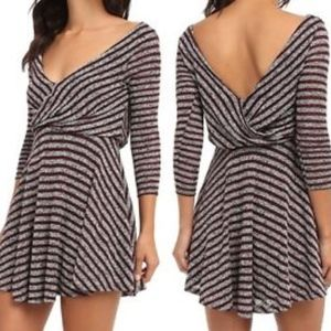 NWT! Free People Maverick Striped Sweater Dress